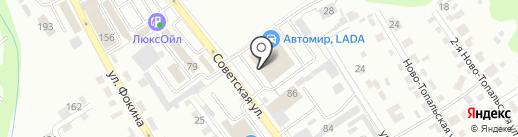 Автомир Ford на карте Брянска