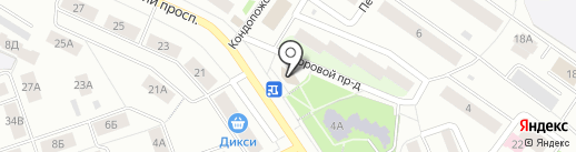 New Smile на карте Петрозаводска