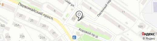 Российская сеть кабинетов здоровья на карте Петрозаводска