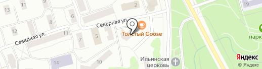 Armos на карте Петрозаводска