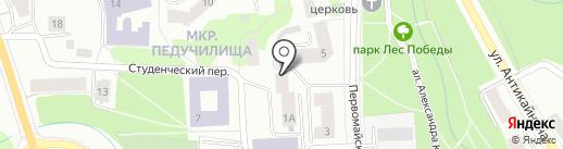Стройность-тонусные столы на карте Петрозаводска