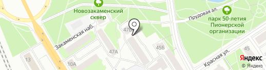 Карелтранссервис на карте Петрозаводска