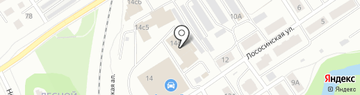 LEKS MOTORS на карте Петрозаводска