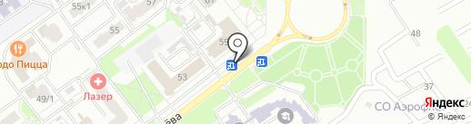Сеть магазинов цветов на карте Брянска