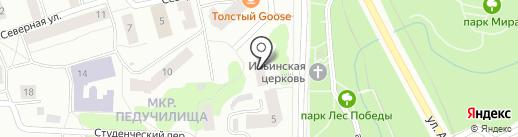 Прима-Н на карте Первомайского