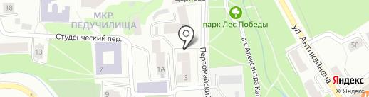 Ямаха ТЕХНОПАРК на карте Петрозаводска