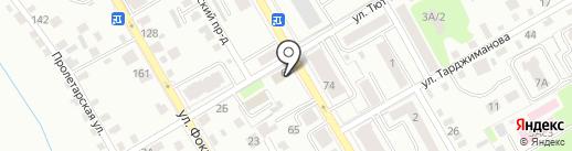 Адвокатская консультация №8 на карте Брянска