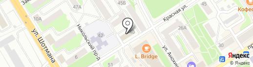 Анжелика на карте Петрозаводска