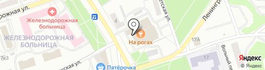 Эхо на карте Петрозаводска