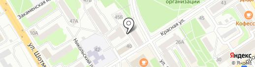 Бюро переводов на карте Петрозаводска