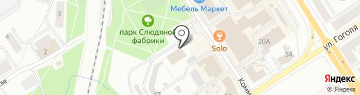 Сейд на карте Петрозаводска