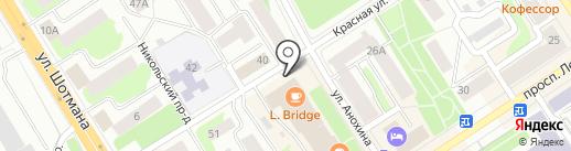 Фонд социального страхования РФ по Республике Карелия на карте Петрозаводска