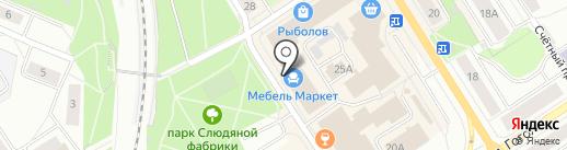 100 квадратов на карте Петрозаводска
