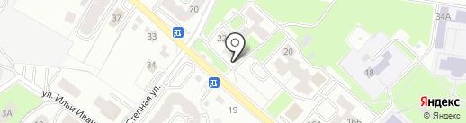 Почтовое отделение №36 на карте Брянска