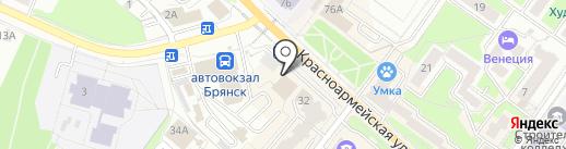 БалтБет на карте Брянска