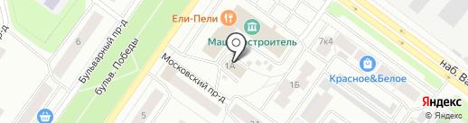 Центр лабораторного анализа и технических измерений по Республике Карелия на карте Петрозаводска
