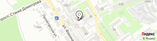 Всероссийское добровольное пожарное общество на карте Брянска