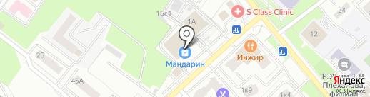 Teplo на карте Брянска