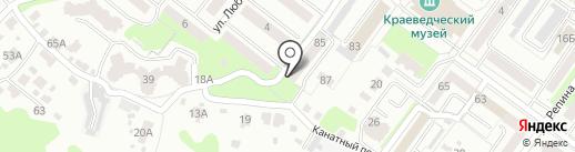 Брянскгазпроект, ЗАО на карте Брянска