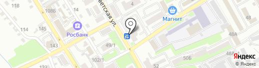Орбита на карте Брянска