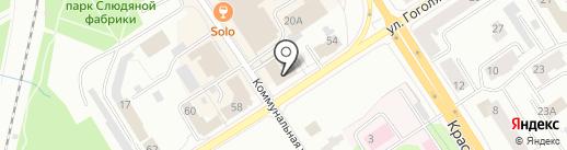 Благо на карте Петрозаводска