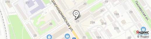Текстильный каприз на карте Петрозаводска