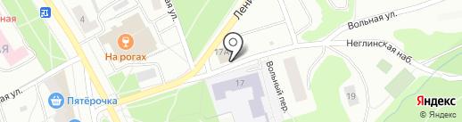 Айс-сервис на карте Петрозаводска
