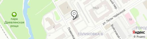 Импульс.Механизация на карте Петрозаводска