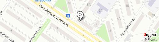 Памятники-Петрозаводск.РФ на карте Петрозаводска