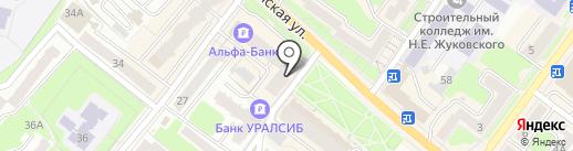 НикаВет на карте Брянска