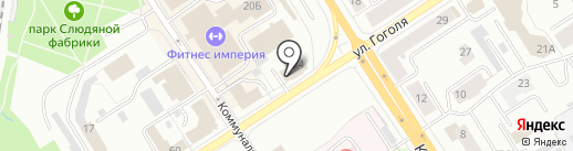 Северо-Западное агентство правовой информации на карте Петрозаводска