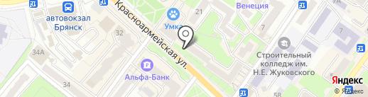Магазин спортивной одежды на карте Брянска