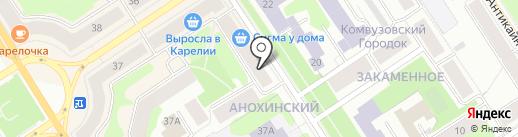 Kompliment на карте Петрозаводска