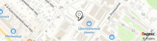 Пультовик на карте Брянска