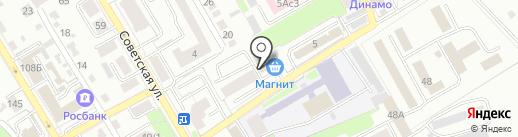 Новосел на карте Брянска