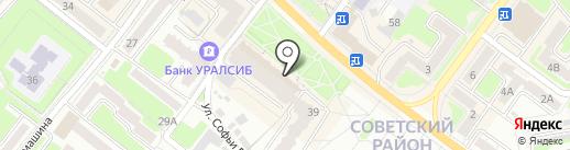ВСЁ и CRAZY на карте Брянска