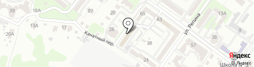 Адвокат Михайлов М.Ю. на карте Брянска