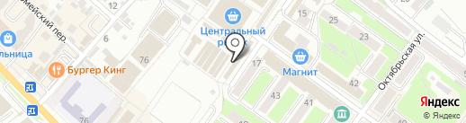 РИТМ на карте Брянска