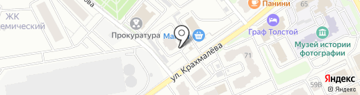 АльфаСтрахование-ОМС на карте Брянска