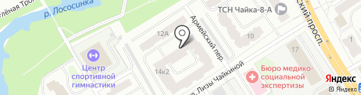 Интерактив на карте Петрозаводска