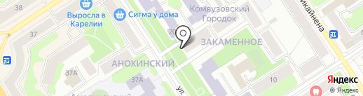 МАП ЛОГИСТИК на карте Петрозаводска
