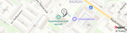 Брянский государственный краеведческий музей на карте Брянска