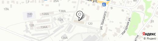 Библиотека №11 на карте Брянска