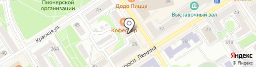 The CHILLOUT на карте Петрозаводска