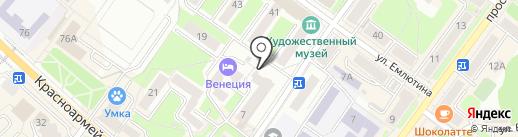 Центральная коллегия адвокатов г. Брянска на карте Брянска