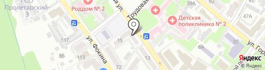 Центр здоровья на карте Брянска