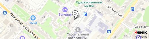 Оптово-розничный магазин по продаже семян на карте Брянска