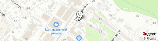 Центр полиграфии на карте Брянска