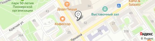 Second hand & stock на карте Петрозаводска