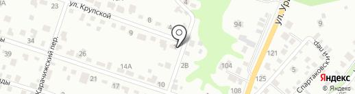 ИдеалСтрой на карте Брянска